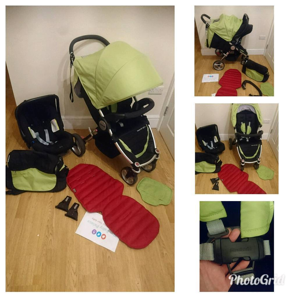 MASSIVE steelcraft (Britax) agile bundle travel system and accessories