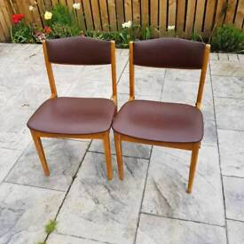 2 x chairs (1970s) project
