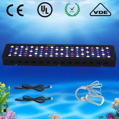 300W LED Aquarium Light Dimmable Full Spectrum for Reef Coral Fresh Tank Marine