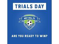 Wey Hill FC - Trials Day - Saturday & Sunday league