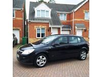 VAUXHALL ASTRA 1.6 BREEZE, BLACK, FULL SERVICE HISTORY, MOT MARCH 2017