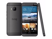 HTC M9 32G ORIGINAL UK VERSION IN GUNMETAL GREY++ UNLOCKED TO ALL NETWORKS++