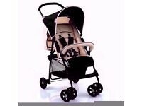 FREE RAINCOVER,SPORT PUSHCHAIR LIGHTWEIGHT BABY STROLLER BUGGY,BRAN NEW, sealed in its box,