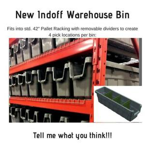 Organize Your Pallet Racking with our Warehouse Bin