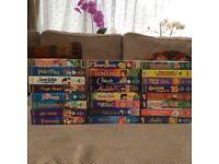 Classic Disney films on VHS