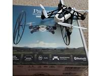 Parrot White Rolling Spider Mini Flying Drone