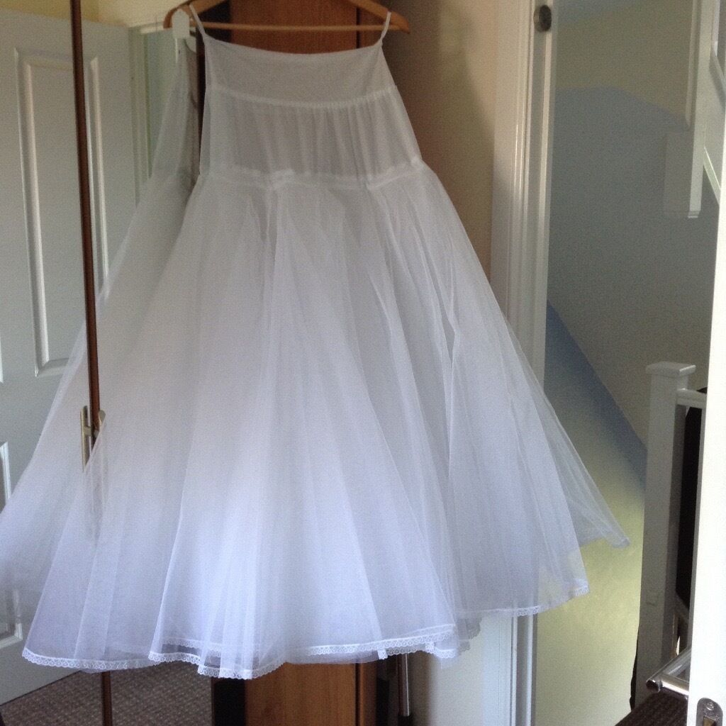 Jupon 163 Wedding Dress Underskirt BNWT with optional hoop (included ...