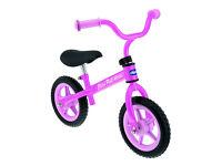 NEW Chicco Arrow Balance Bike - Pink