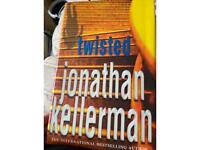Jonathon kellerman twisted hardback book