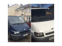 2 2004 Transit vans cheap