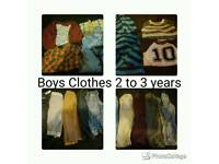 Boys Clothes Bundle 2 to 3 years