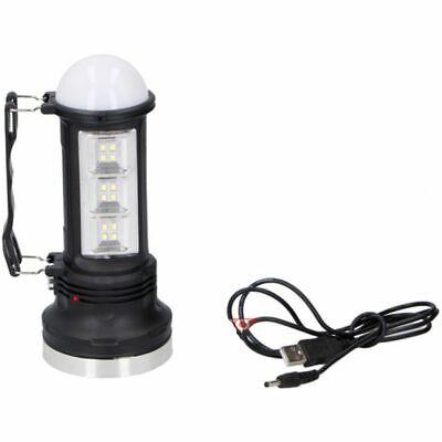 Grundig Taschenlampe USB LED CREE Handstrahler Solar Handscheinwerfer  Taschenlampe Scheinwerfer Scheinwerfer