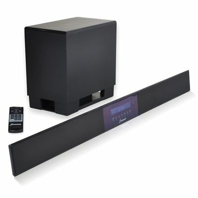 Summit Soundbar A50-1000B mit Subwoofer Fernbedienung & Bluetooth