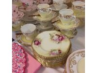 ***NOT TO BE MISSED***Vintage cake stands, china