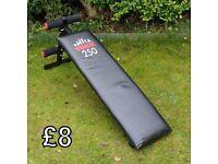 York 250 Exercise Bench