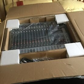 Never been used from new PA power amp mixer and flight cases