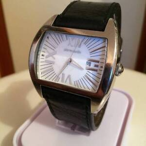 PIERRE CARDIN WATCH WITH LEATHER BAND Endeavour Hills Casey Area Preview