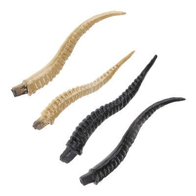 4 Artificial Antelope Horns Costume Gothic Hair Headband Hoop DIY Accessory - Antelope Costume