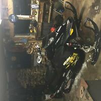 2010 Skidoo MXZ 800R E-TEC with only 5600 miles