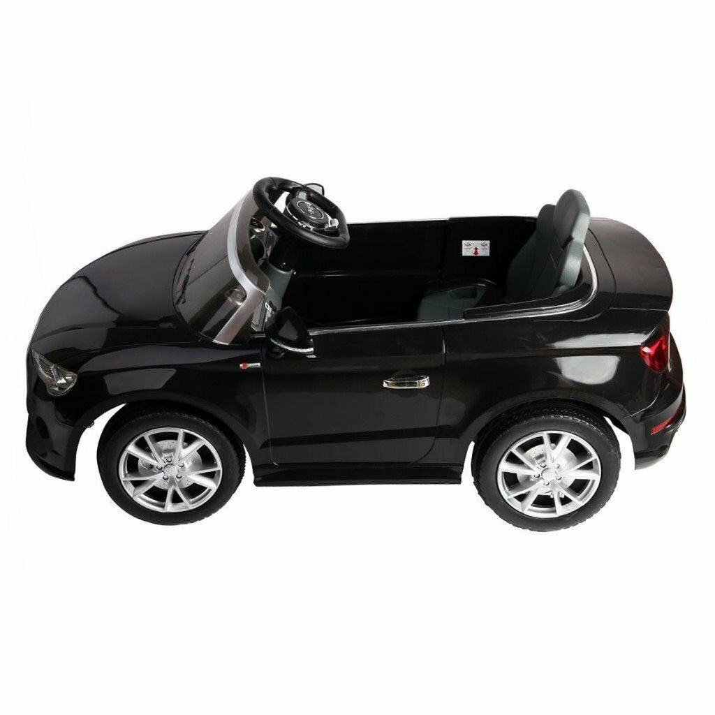 7b2bc4c9419a AUDI A3 Licensed Kids Ride On 12V Twin Motor Car BLACK | in ...