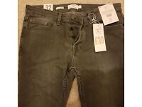 Top man brand new grey W32 L30 jeans