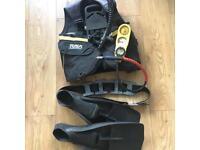 TUSA scuba diving commando