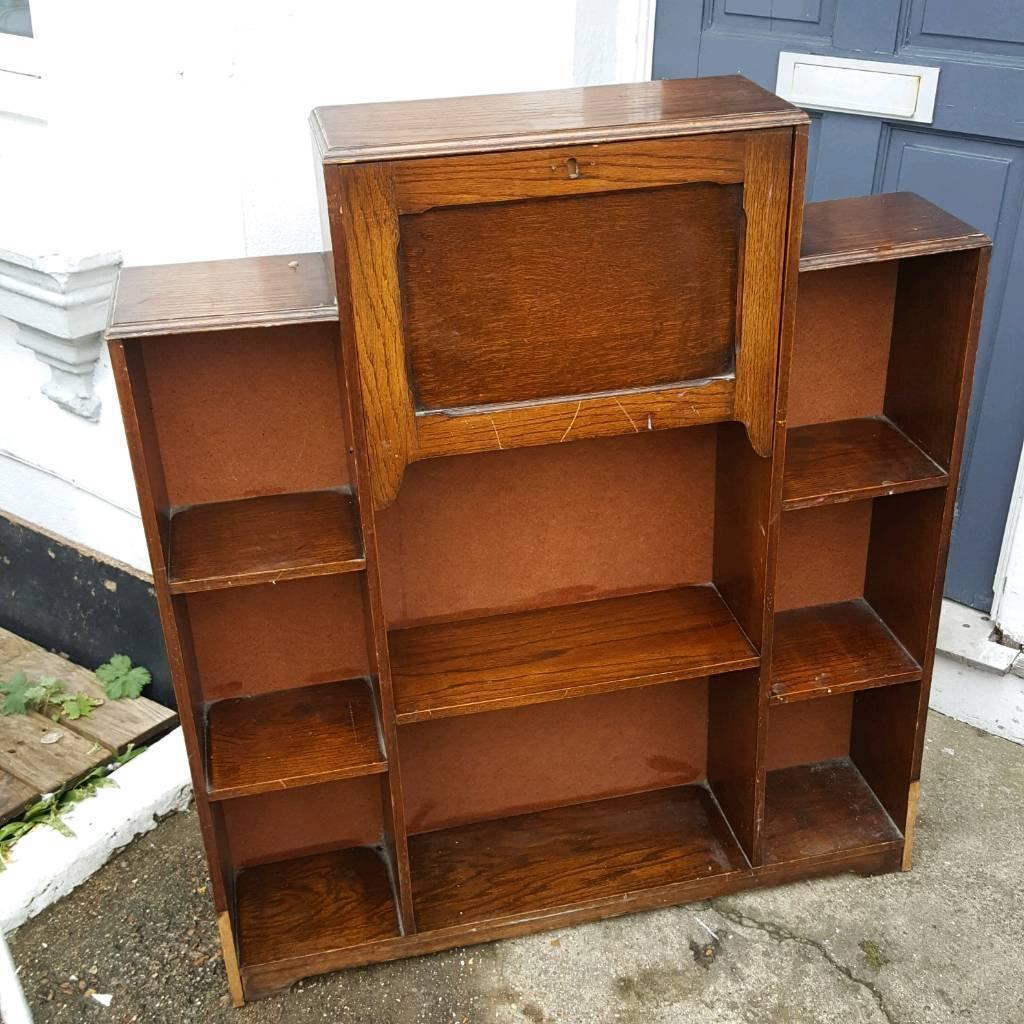 Art Deco Style Vintage Bureau Book Case Shabby Chic Retro Cupboard In Brighton East Sussex Gumtree