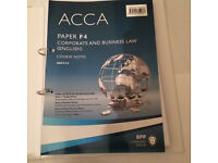 BPP's ACCA F4 course notes
