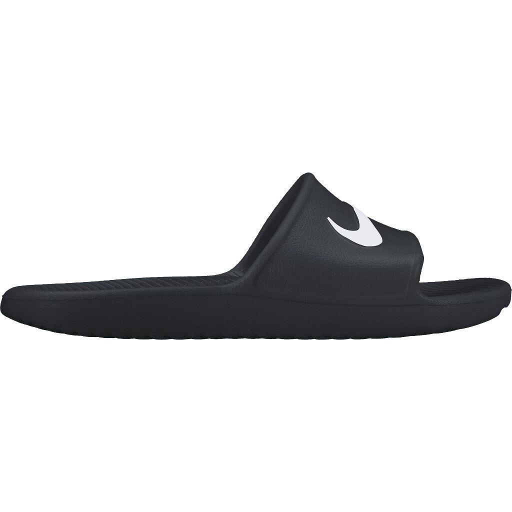 Nike KAWA SHOWER Men's Slide Black/White Slipper 832528 001