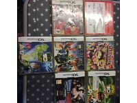 7 Nintendo ds games