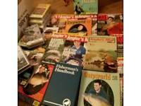 Fishing..magazines.