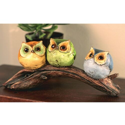 Owl on Branch -  Home decor/ Fine craft/ Perfect gift/