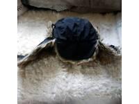 Men's fur hat
