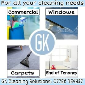 GK Cleaning Solutions: Fully Insured, Professional Cleaning