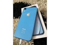 iPhone XR 64gb blue under 3 months old