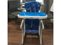 Stimo 24. 2 in 1 High Chair ( Table and Chair convertible) from 6 month to 6 years