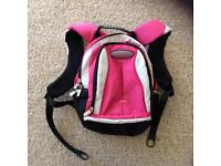 Jeep Airflow hot pink and grey day/back pack