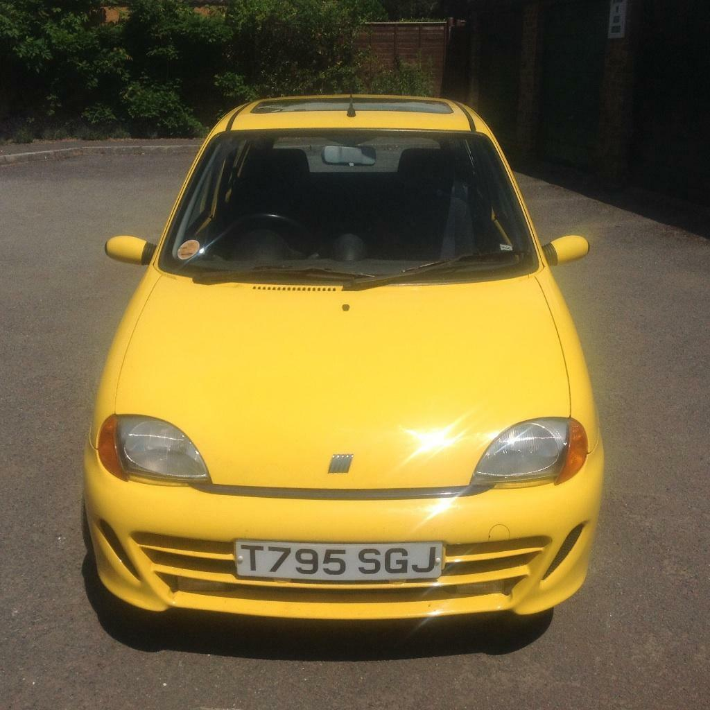 fiat seicento 1 1 sporting moted cheap insurance in guildford surrey gumtree. Black Bedroom Furniture Sets. Home Design Ideas