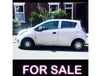 Chevrolet Spark 2013 reg cheap insurance £30 Road tax