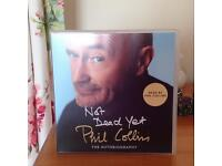 NOT DEAD YET Phil Collins. The Autobiography