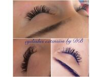 Classic eyelashes extension at Beauty salon INFINITY near Stratford