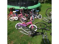 Job lot of bikes including GT and Giant