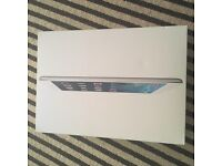iPad Air 16GB silver and white . Wi fi , Bluetooth and GPS. Absolutely no marks . Boxed etc