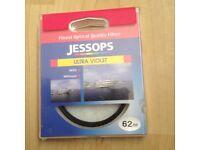 Jessops UV lens filter 62mm