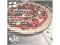 Full time experienced cook wanted for busy handmade burger and pizza takeaway