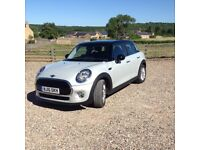 Excellent condition Silver Mini Cooper 5 door