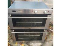 BELLING STAINLESS STEEL BUILT IN COOKER WITH OVEN AND SEPARATE GRILL £45