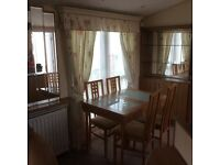 2006 Winchester Willerby, sleeps 6, central heated, double glazed. 2 bedroom, 1 en suite,
