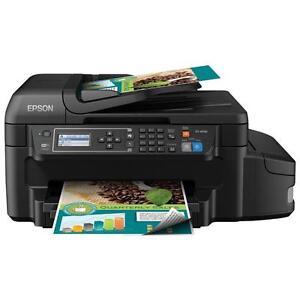 Epson WorkForce EcoTank Wireless All-In-One Inkjet Printer (ET-4550)