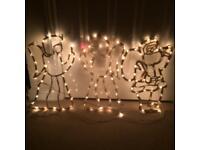 45 Christmas silhouettes lights